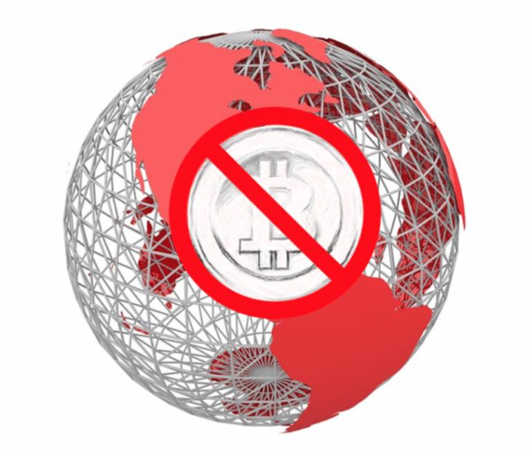 Cinco países donde Bitcoin es ilegal