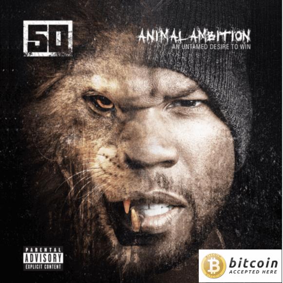 El rapero 50 Cent tiene millones en Bitcoin