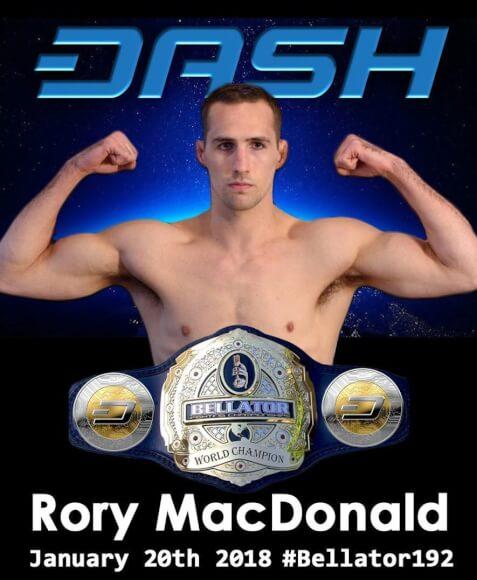 Dash Patrocina Luchador de MMA