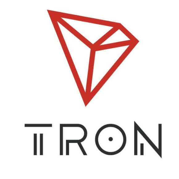 Logo tron cripto