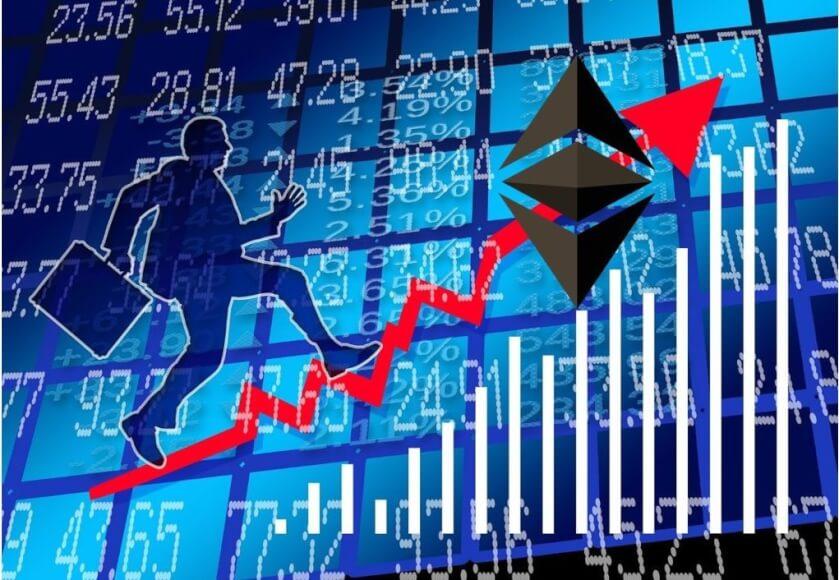 Ethereum sobrepasa los 1.000 dólares por primera vez