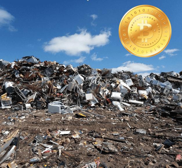 Un hombre pierde sus bitcoins valorados en 55 millones de dólares. Suma y sigue