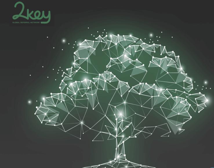 ¿Qué es 2Key? Reciba por la información que comparte y por compartir la de los demás