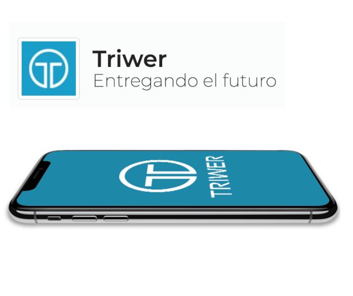 Triwer, aplicación para el envío de paquetes estilo Uber