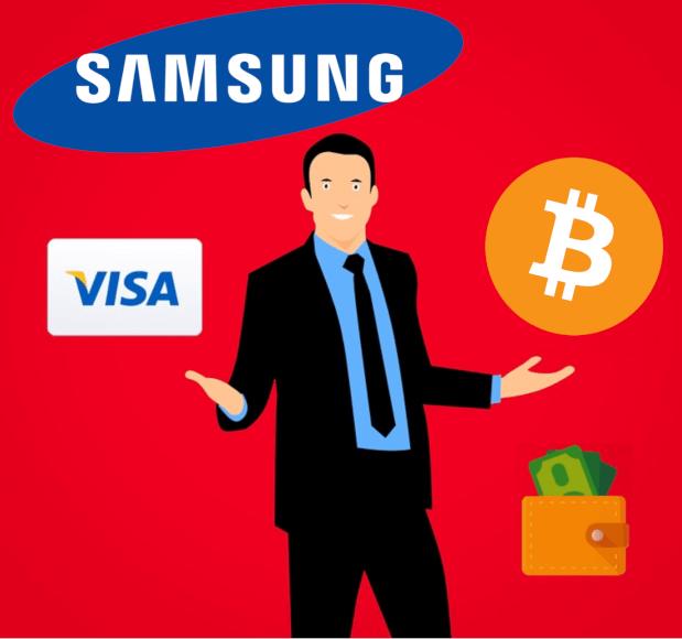 Samsung acepta pagos con criptomonedas en 3 países de Europa