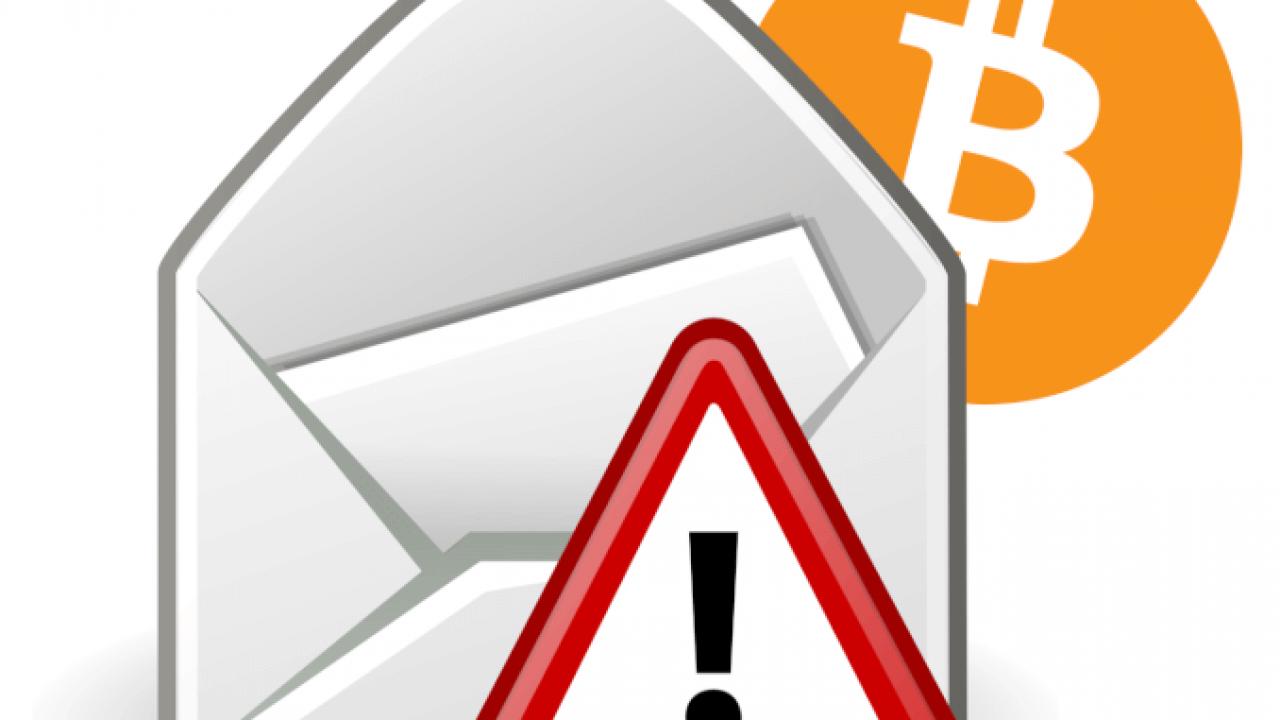 Chantaje de correo electrónico de bitcoin