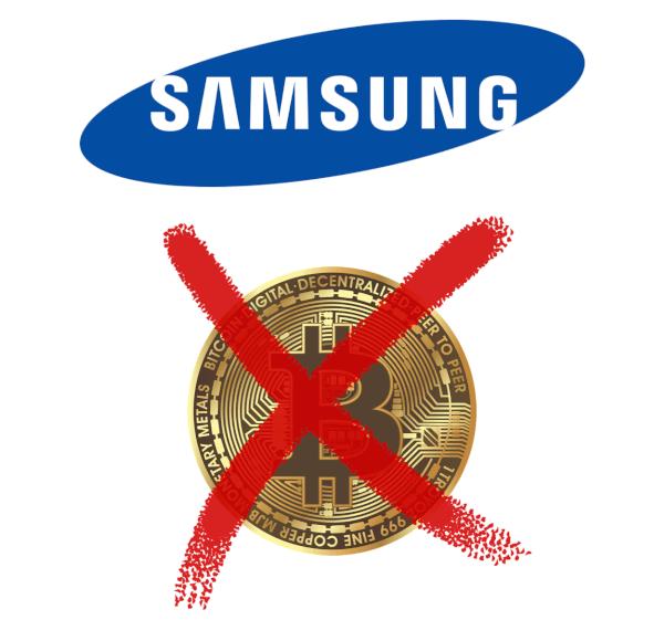 Falsa alarma, Samsung NO acepta pagos con CRIPTOMONEDAS en los países bálticos