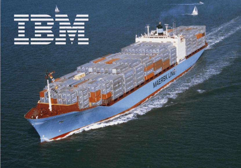 IBM y Maersk lanzan blockchain para reducir el tiempo y los costes de envío