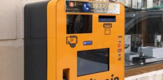 mercado de ATM bitcoin