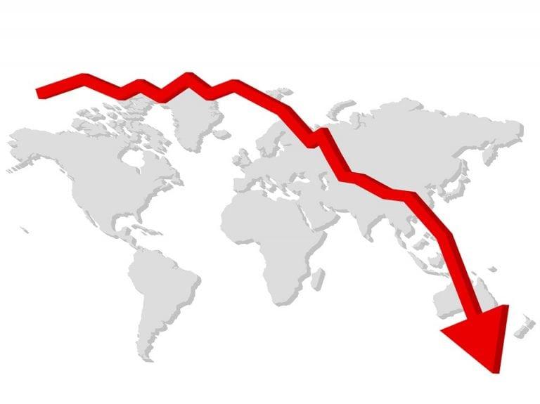 El mercado criptográfico está en rojo, Bitcoin, Ethereum, Tezos todos los activos han caido