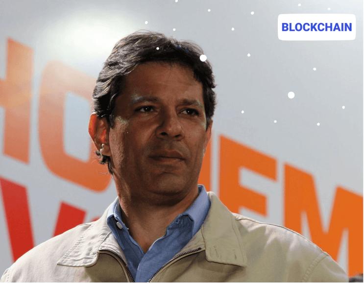 Fernando Haddad registra su plan gubernamental en blockchain
