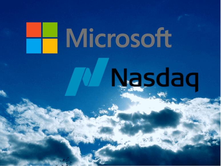 Nasdaq y Microsoft se unen para una iniciativa Blockchain