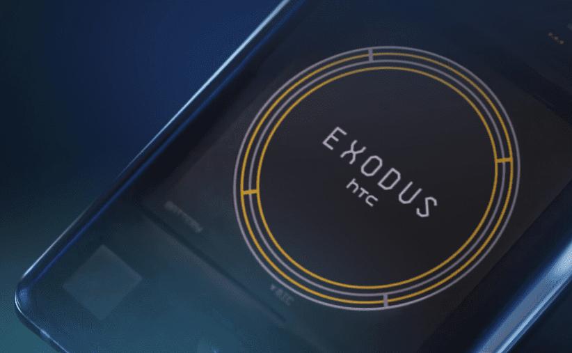 Exodus, el teléfono blockchain de HTC, sale finalmente al mercado