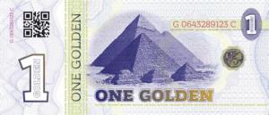 golden 1 bill