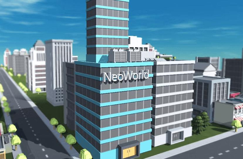 NeoWorld: diseña y construye con blockchain un planeta habitable de realidad virtual