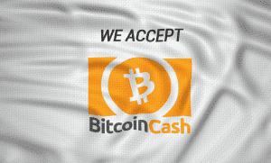bitcoin cash aceptamos