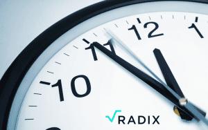 reloj de radix