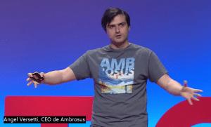 angel versetti CEO de Ambrosus