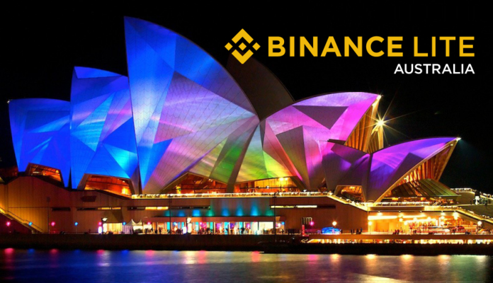 Binance Lite Australia