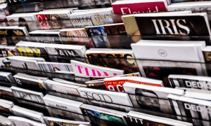 bitcoin en puestos de revistas