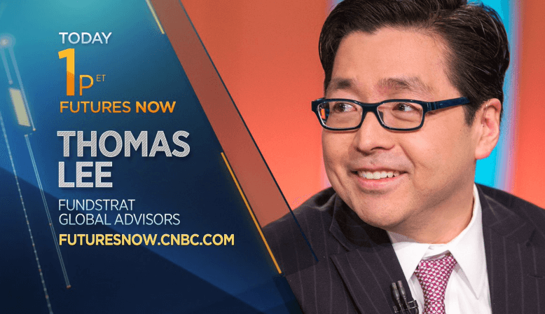 Tom Lee Futures Now CNBC