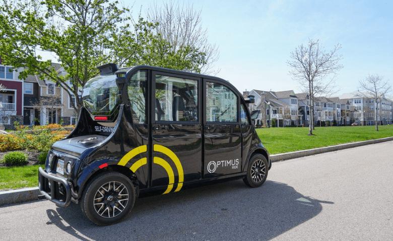 optimus ride vehículos autónomos