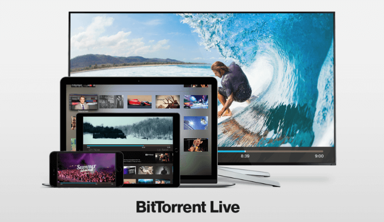 BitTorrent B Live