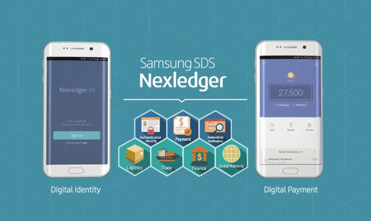 Samsung Nexledger Blockchain