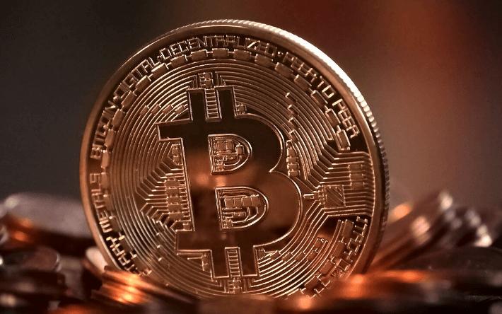 Cruce dorado de Bitcoin