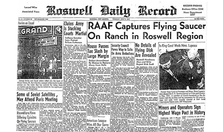 nuevo orden mundial - Roswell