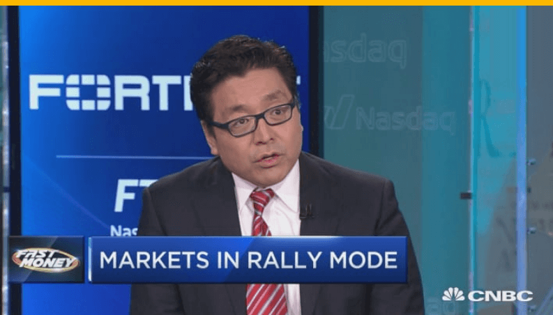 bitcoin - tom lee