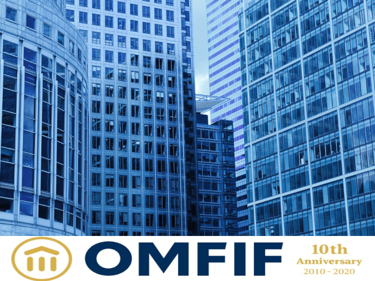 Imagen donde se ven la fachada de unos edificios junto con el logo de la ONFIF