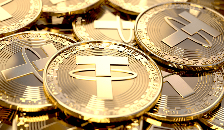 monedas representativas de Tether