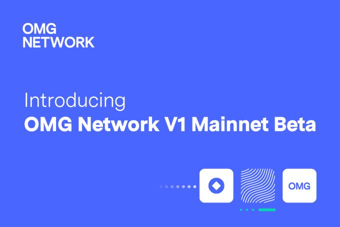 Imagenes de la nueva Mainnet de OMG Network