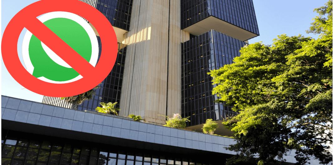 El Banco Central de Brasil prohíbe los pagos WhatsApp