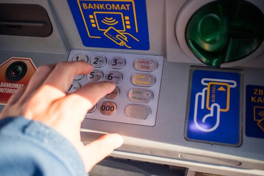 Imagen de un cajero de Bitcoin