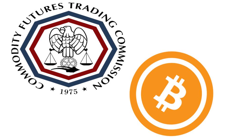 logos de CFTC y Bitcoin