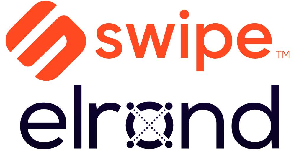 Imagen en la que se ve el logo de Swipe y Elrond