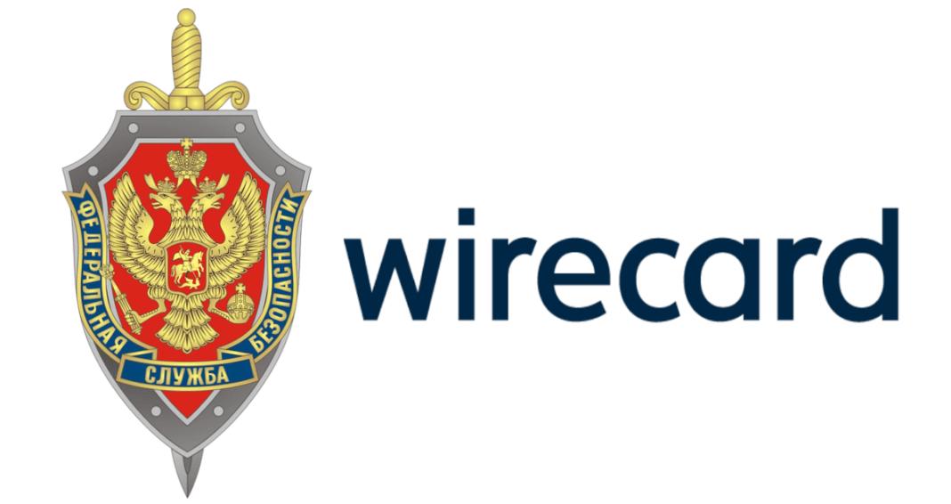 Imagen donde se ve el escudo de FSB y las letras que forman Wirecard