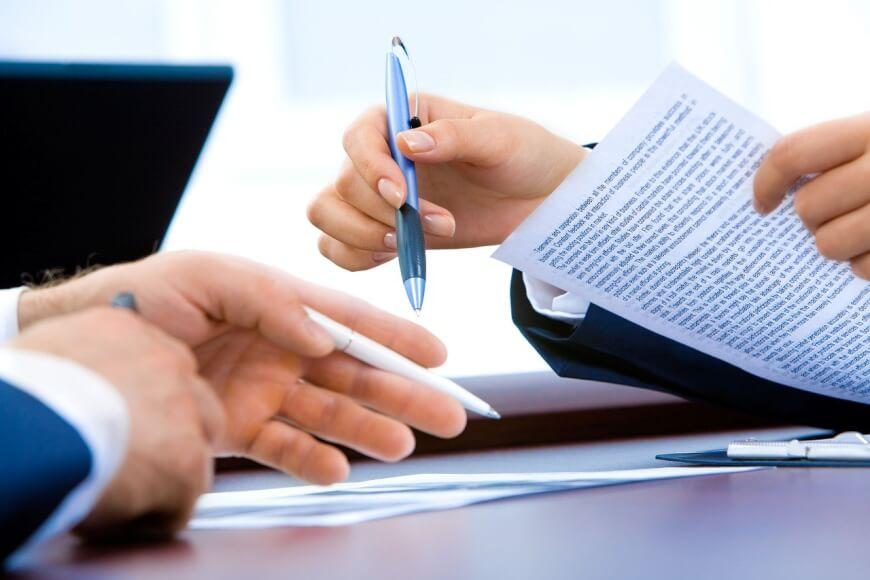 representación de un acuerdo