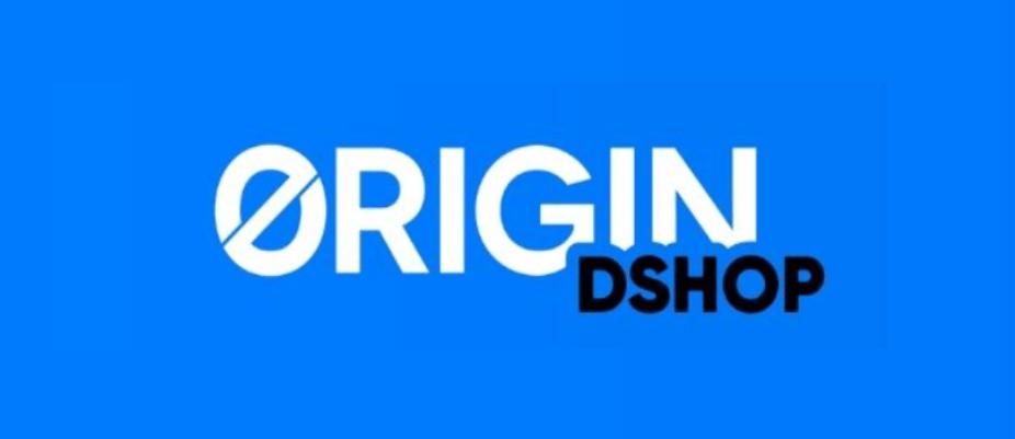 Logo de Origin DSHOP