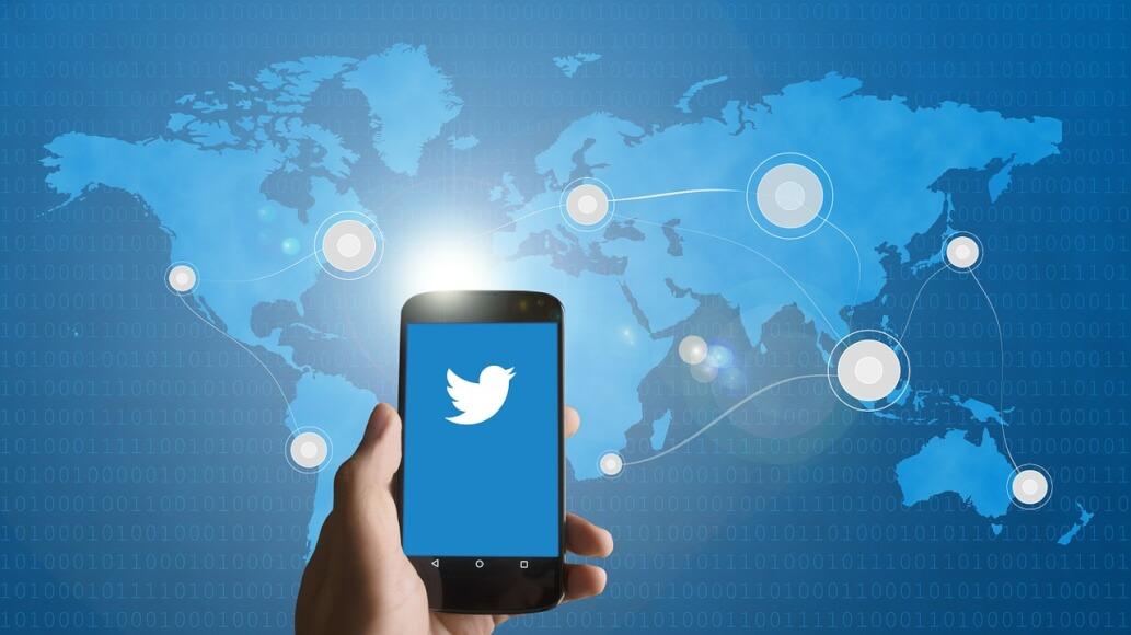 Imagen en la que se entiende la globalización de Twitter