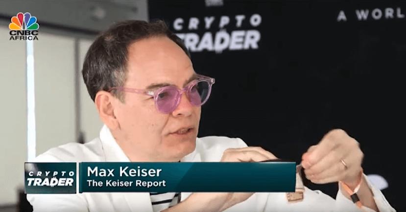 invertir en criptomonedas - Max Keiser