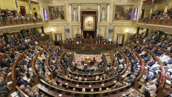 Imagen del Congreso de los Diputados español