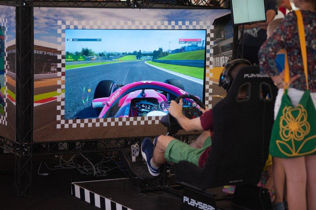 Simulador de la Formula 1