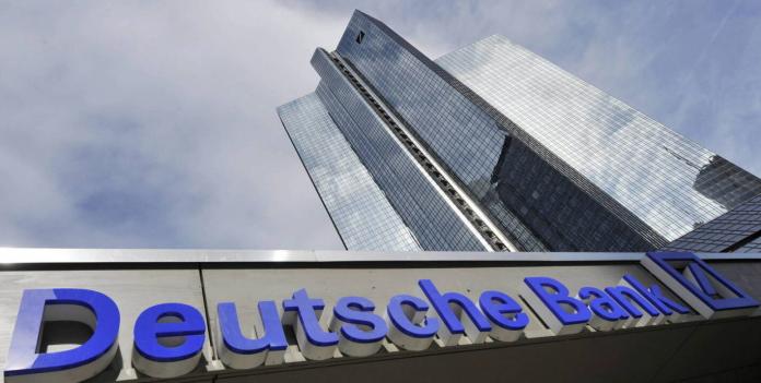 Imagen de una de las torres del Deutsche Bank