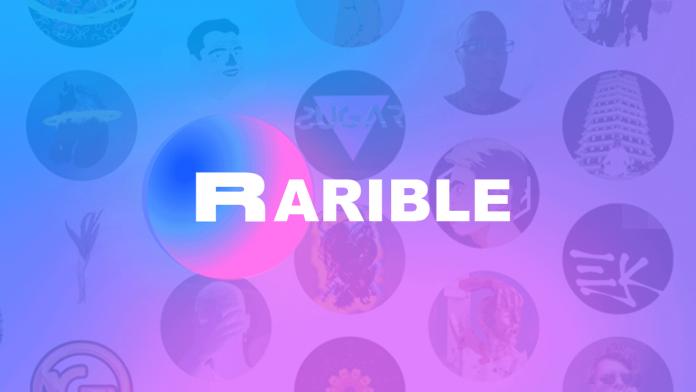 Imagen del logo de Rarible